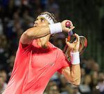 March 26 2018: David Ferrer (ESP) loses to Alexander Zverev (GER) 2-6, 6-2, 6-4, at the Miami Open being played at Crandon Park Tennis Center in Miami, Key Biscayne, Florida. ©Karla Kinne/Tennisclix/CSM