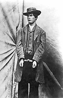 Payne, Alias Wood, Alias Hall.  Arrested as an associate of Booth in the conspiracy. 1865.  Lewis Payne, the conspirator who attacked Secretary of State Seward. (Army)<br /> Exact Date Shot Unknown