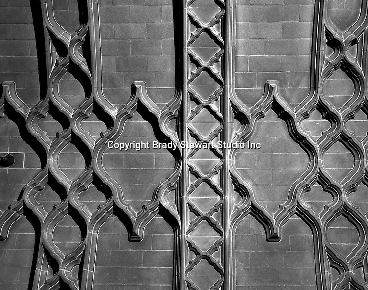 """East Liberty section of Pittsburgh PA:  The ceiling of the East Liberty Presbyterian Church Narthex. This image is included in the book; """"The Art and Architecture of the East Liberty Presbyterian Church"""".  This ceiling was copied from one at Cambridge University in England."""