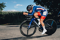 6th October 2021 Womens Cycling Tour, Stage 3. Individual Time Trial; Atherstone to Atherstone. Clara Copponi.