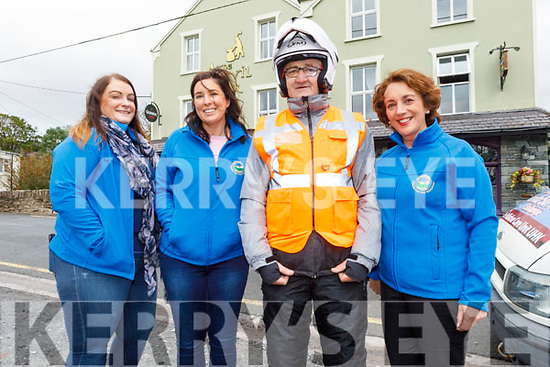 Siobhan O'Donoghue, Elaine Griffin, James O'Brien and Elizabeth Ryle O'Connor attending the Honda 50 Run for the Kerry Hospice in Boolteens on Sunday