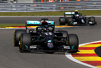 30th August 2020, Spa Francorhamps, Belgium, F1 Grand Prix of Belgium , Race Day;  44 Lewis Hamilton GBR, Mercedes-AMG Petronas Formula One Team on his way to winning the race