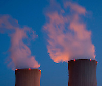 The Nuclear Power Cofrentes in Valencia Property GENERATION IBERDROLA, SA, is the largest electric power installed in the Spanish nuclear power stations, with 1,092 megawatts (MW).  April 8, 2011. (C) Pedro Armestre