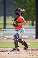 Houston Astros Jamie Ritchie (67) during a Minor League Spring Training Intrasquad game on March 28, 2018 at FITTEAM Ballpark of the Palm Beaches in West Palm Beach, Florida.  (Mike Janes/Four Seam Images)