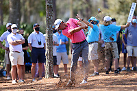 14th March 2021; Ponte Vedra Beach, Florida, USA;  Charles Howell III of the United States plays a shot from the rough on the 10th hole during the final round of THE PLAYERS Championship on March 14, 2021 at TPC Sawgrass Stadium Course in Ponte Vedra Beach, Fl.