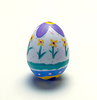 Decorated Easter egg.