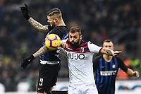Mauro Icardi of Internazionale , Danilo of Bologna <br /> Milano 03-02-2019 Stadio San Siro Football Serie A 2018/2019 Inter - Bologna    <br /> Foto Image Sport / Insidefoto