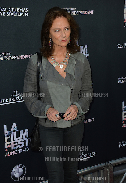 """Jacqueline Bisset at the premiere of """"Grandma"""", the opening movie of the Los Angeles Film Festival, at the Regal Cinema LA Live.<br /> June 11, 2015  Los Angeles, CA<br /> Picture: Paul Smith / Featureflash"""