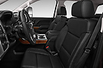Front seat view of a 2018 GMC Sierra 3500HD 2WD Crew Cab Standard Box SLT 4 Door Pick Up front seat car photos