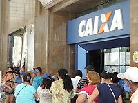 06/04/2021 - FILAS NA CAIXA ECONOMICA DO RECIFE