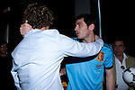 01.06.2012. Telecinco presents its official schedule for the transmission of Eurocup 2012 to the Ciudad del Futbol of Las Rozas, Madrid. In the image David Bisbal and Iker Casillas(Alterphotos/Marta Gonzalez)