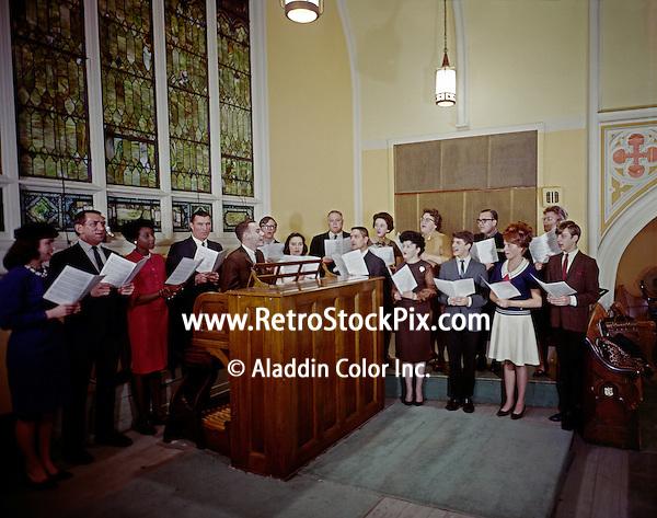 Annunciation Church, Pittsburgh, PA. Organist and church choir.