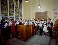 Annunciation Church, Pittsburgh, PA. Organist and church choir.