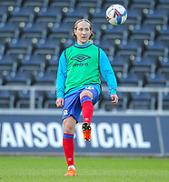 31st October 2020; Liberty Stadium, Swansea, Glamorgan, Wales; English Football League Championship Football, Swansea City versus Blackburn Rovers; Lewis Holtby of Blackburn Rovers during the warm up