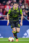 Rodrigo Battaglia of Sporting CP in action during the UEFA Europa League quarter final leg one match between Atletico Madrid and Sporting CP at Wanda Metropolitano on April 5, 2018 in Madrid, Spain. Photo by Diego Souto / Power Sport Images