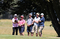 Spectators during the New Zealand Amateur Golf Championship, Poverty Bay Golf Course, Awapuni Links, Gisborne, Friday 23 October 2020. Photo: Simon Watts/www.bwmedia.co.nz