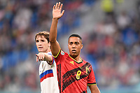 ST PETERSBURG, RUSSIA - JUNE 12 :  Youri Tielemans midfielder of Belgium pictured during the 16th UEFA Euro 2020 Championship Group B match between Belgium and Russia on June 12, 2021 in St Petersburg, Russia, 12/06/2021 <br /> Photo Photonews / Panoramic / Insidefoto <br /> ITALY ONLY
