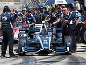 Verizon IndyCar Series<br /> Iowa Corn 300<br /> Iowa Speedway, Newton, IA USA<br /> Saturday 8 July 2017<br /> Max Chilton, Chip Ganassi Racing Teams Honda<br /> World Copyright: Michael L. Levitt<br /> LAT Images