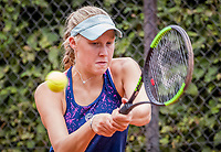 Hilversum, Netherlands, August 8, 2018, National Junior Championships, NJK, Melissa Boyden (NED)<br /> Photo: Tennisimages/Henk Koster