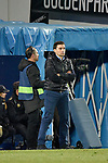 Leganes coach Asier Garitano vs Real Madrid during Copa del Rey  match. A quarter of final go. 20180118.