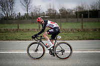 Tim Wellens (BEL/Lotto-Soudal)<br /> <br /> 76th Omloop Het Nieuwsblad 2021<br /> ME(1.UWT)<br /> 1 day race from Ghent to Ninove (BEL): 200km<br /> <br /> ©kramon