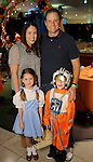 Kristen and Hugh Hamilton with Emma and Jack at the Little Galleria Halloween Spooktacular presented by MD Anderson Children's Cancer Hospital at The Galleria Sunday Oct. 30,2016.(Dave Rossman photo)