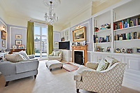 BNPS.co.uk (01202) 558833. <br /> Pic: FinlayBrewer/BNPS<br /> <br /> Perfect for Strictly fans!<br /> <br /> A house on the street where comedian Bill Bailey famously pirouetted in the middle of the road after becoming the oldest person to win Strictly Come Dancing has gone on sale for £5.35m.<br /> <br /> The enormous, late Georgian property is on the prestigious tree-lined Hammersmith Grove and the new owners will have the Strictly champion as a neighbour.<br /> <br /> The house has been completely renovated and now has five bedrooms, three bathrooms and a giant living, kitchen and dining area.<br /> <br /> It even has a cinema in the basement, making it perfect for Strictly fans who want to watch the 2021 competition in style.