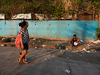 Street Photography, Manila, Philippines Manila slum area,