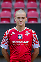 16th August 2020, Rheinland-Pfalz - Mainz, Germany: Official media day for FSC Mainz players and staff; Dimitri Lavalee FSV Mainz 05
