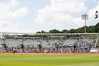A general view of play at the Hampshire Bowl on day 6 of the WTC Final during India vs New Zealand, ICC World Test Championship Final Cricket at The Hampshire Bowl on 23rd June 2021