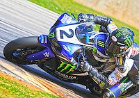 Josh Herrin in action, AMA Superbike Race, Road ATlanta, Braselton, GA .  (Photo by Brian Cleary/ www.bcpix.com )