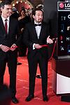 Pablo Iglesias attends red carpet of Goya Cinema Awards 2018 at Madrid Marriott Auditorium in Madrid , Spain. February 03, 2018. (ALTERPHOTOS/Borja B.Hojas)