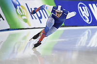 SPEEDSKATING: SALT LAKE CITY: Utah Olympic Oval, 10-03-2019, ISU World Cup Finals, 500m Men, Viktor Mushtakov (RUS), ©Martin de Jong