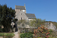 Europe/France/Normandie/Basse-Normandie/50/Manche/Cap de la Hague/Omonville-la-Rogue: L'église gothique Saint-Jean-Baptiste // Europe/France/Normandie/Basse-Normandie/50/Manche/Cap de la Hague/Omonville-la-Rogue: the church