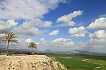 Tel Megiddo, a World Heritage site