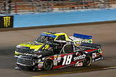 NASCAR Camping World Truck Series <br /> Lucas Oil 150<br /> Phoenix Raceway, Avondale, AZ USA<br /> Friday 10 November 2017<br /> Noah Gragson, Switch Toyota Tundra Matt Crafton, Ideal Door / Menards Toyota Tundra<br /> World Copyright: Matthew T. Thacker<br /> LAT Images