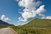 James Dalton Highway, Trans Alaska Oil pipeline, Arctic, Alaska.