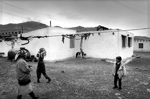 """Moargob, Tajikistan .1996.Located high in the Pamir mountains this impoverished town is a night stop for most truck drvers hauling concelleed opium or """"hannka"""" up the old slik road, much of which is destined for Western Europe.."""