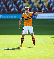 27th September 2020; Fir Park, Motherwell, North Lanarkshire, Scotland; Scottish Premiership Football, Motherwell versus Rangers; Mark OHara of Motherwell gives instructions to his team mates