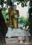 Buddha statue at Wat Botum Park