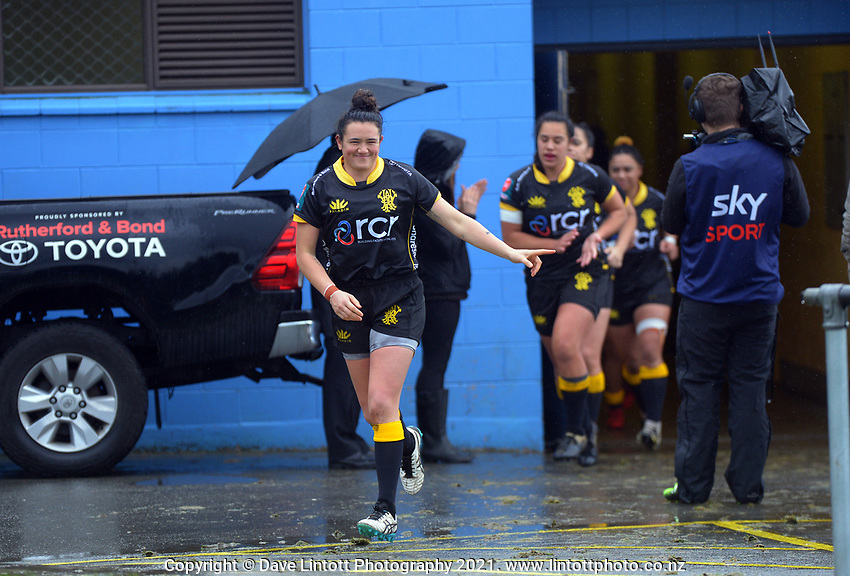 Action from the Farah Palmer Cup women's rugby union match between Wellington Pride and Otago Spirit at Porirua Park in Wellington, New Zealand on Sunday, 18 July 2021. Photo: Dave Lintott / lintottphoto.co.nz