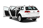 Car images of 2015 Volkswagen Golf Alltrack 5 Door Wagon Doors