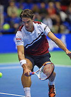 22-12-13,Netherlands, Rotterdam,  Topsportcentrum, Tennis Masters, , , Igor Sijsling(NED) wins Masters<br /> Photo: Henk Koster