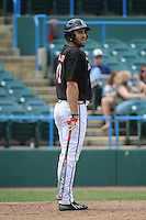 University of Louisville Cardinals outfielder Jeff Gardner (42) during a game against the Temple University Owls at Campbell's Field on May 10, 2014 in Camden, New Jersey. Temple defeated Louisville 4-2.  (Tomasso DeRosa/ Four Seam Images)