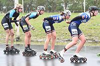 INLINESKATEN: ROTTERDAM: 08-05-2021, Sportpark Noordrand, KNSB Topsport inlineskatewedstrijden, ©foto Martin de Jong