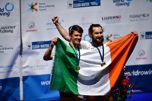 Paul O'Donovan and Fintan McCarthy won Gold in the Lightweight Men's Sculls