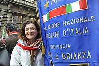- Milano, manifestazione del 25 aprile, anniversario della Liberazione<br /> <br /> - Milan, demonstration of April 25, anniversary of Italy's Liberation