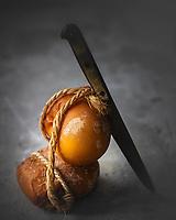 Gastronomie Générale /Diététique Scamorza fumée bio //   General Gastronomy / Diet Organic smoked scamorza