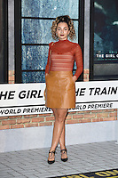 "Ella Eyre<br /> at the premiere of ""The Girl on the Train"", Odeon Leicester Square, London.<br /> <br /> <br /> ©Ash Knotek  D3156  20/09/2016"