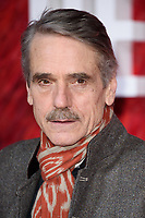 """Jeremy Irons<br /> arriving for the """"Red Sparrow"""" premiere at the Vue West End, Leicester Square, London<br /> <br /> <br /> ©Ash Knotek  D3382  19/02/2018"""